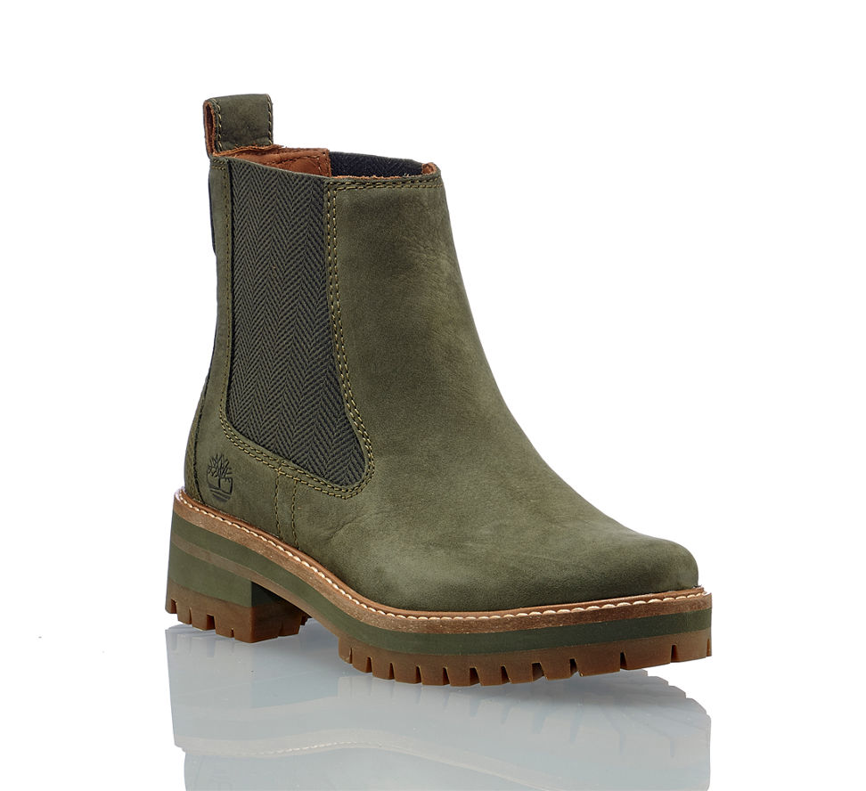 TIMBERLAND Bottines chelsea COURMAYEUR VALLEY CH en vert
